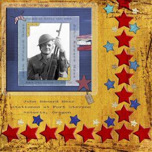 John Hess WWII