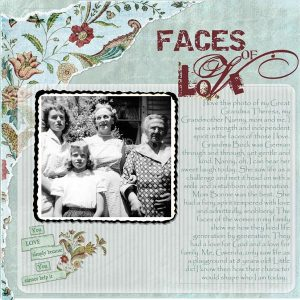 Four generations of Bock, McKeehan and Hess Women