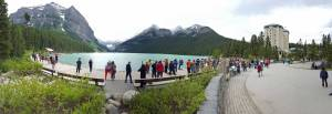 lake louise pano